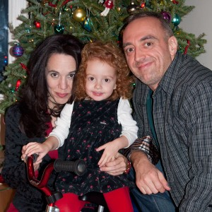 Holiday Greetings for 2012 from Tony, Lori Ann and Vivienne